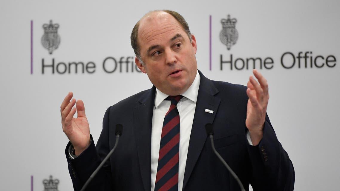 UK defense minister Ben Wallace - Reuters