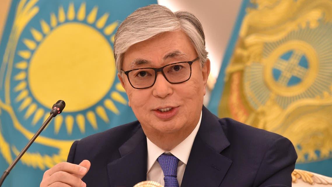 Kassym-Jomart Tokayev Kazakhstan president - AFP