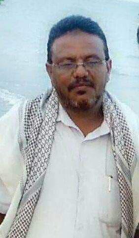 علي العمار قبل اختطافه من الحوثيين