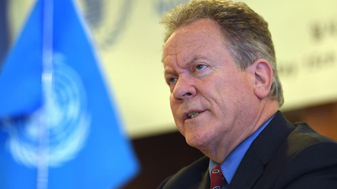 David Beasley, the United Nations World Food Programme (WFP) Executive Director, speaks during a press conference in Seoul after his visit to North Korea. (File photo: AFP)