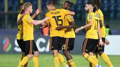 بلجيكا تحقق فوزاً مريحاً على سان مارينو