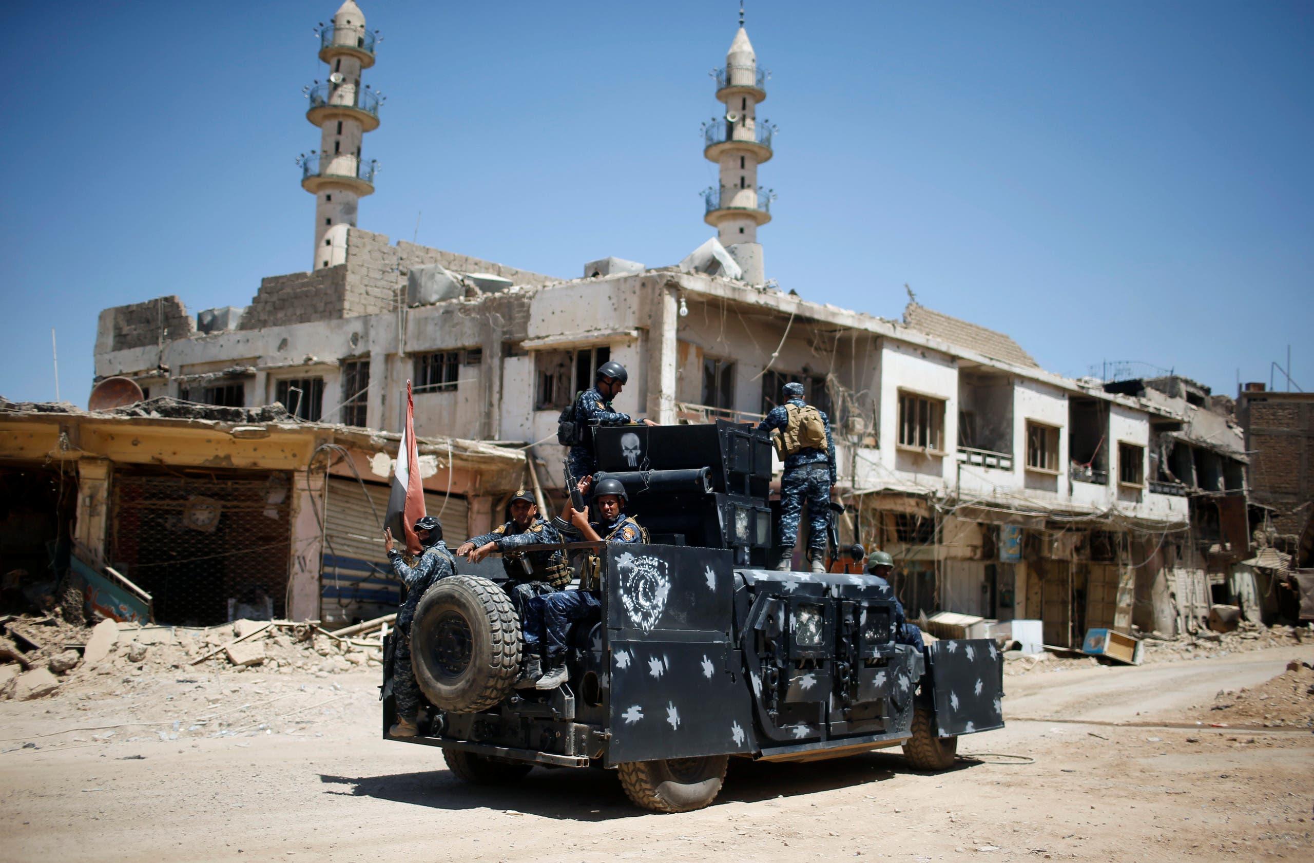 الشرطة العراقية (أرشيفية)