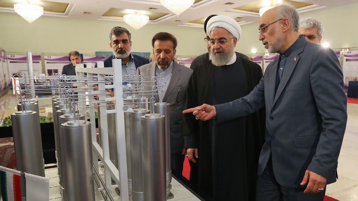 (فرانس برس)روحاني في معمل لتخصيب اليورانيوم