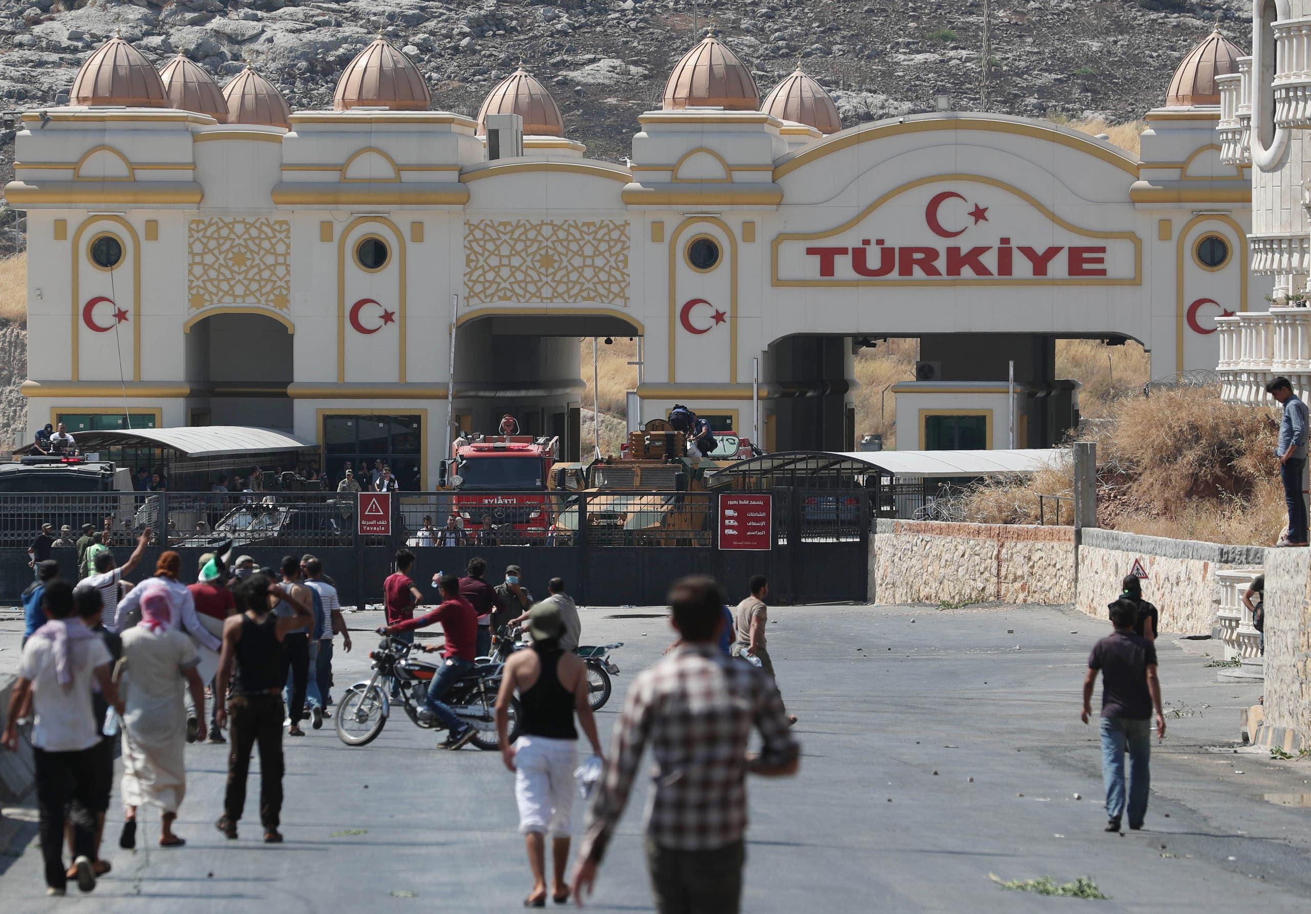 الحدود التركية السورية(فرانس برس)