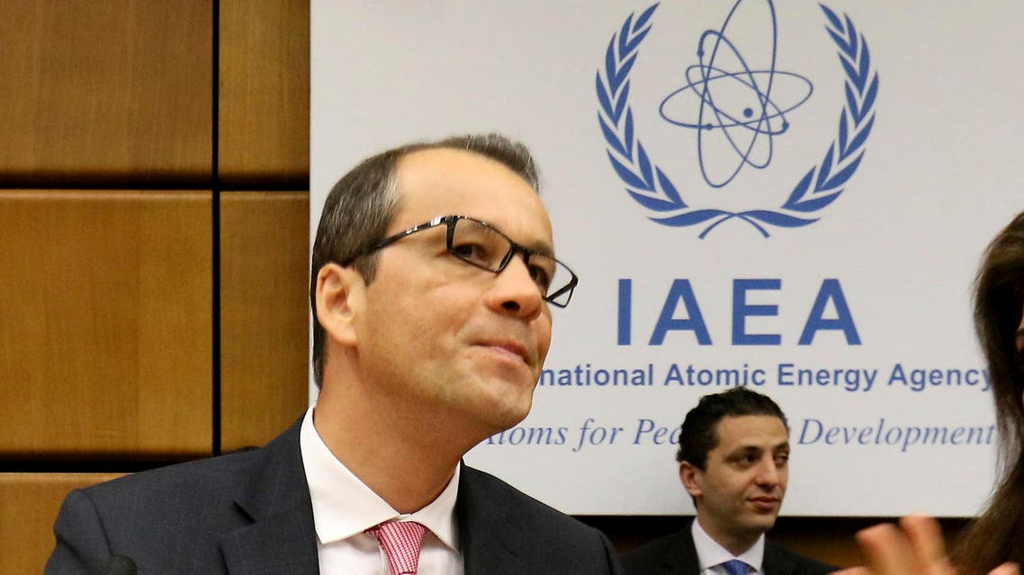 The acting director-general of the United Nations nuclear watchdog cornel feruta (AP)