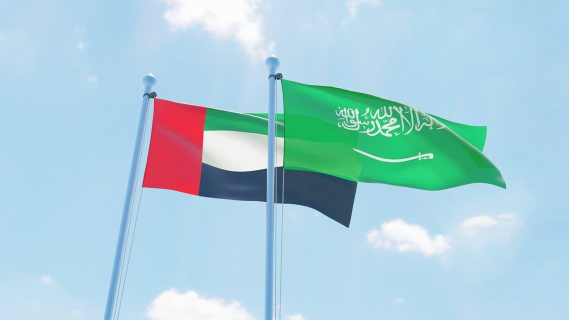 saudi uae emirates flag flags