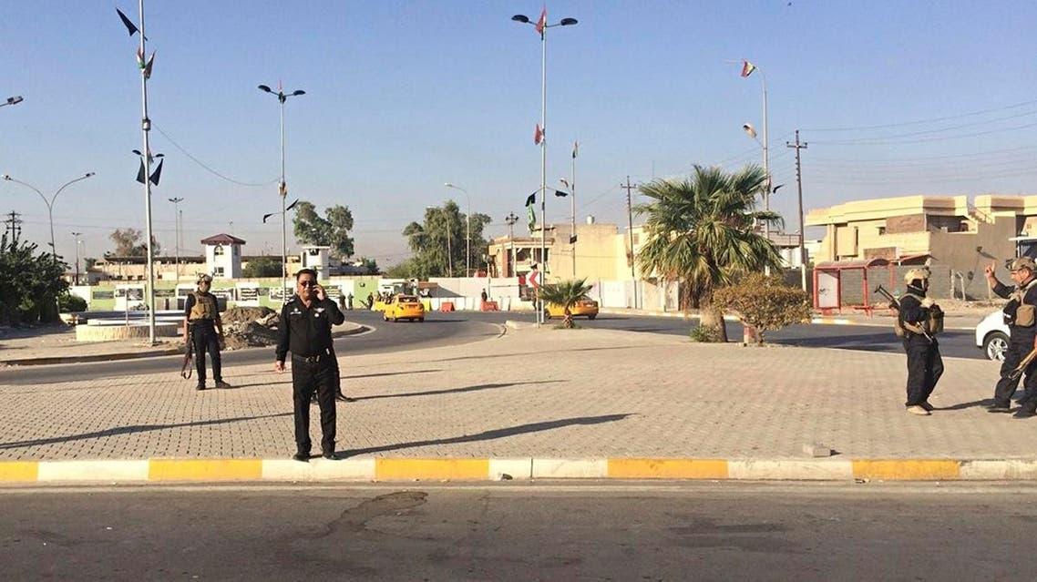 Local police are deployed in Kirkuk, 290 kilometers north of Baghdad, Iraq. (File photo: AP) main