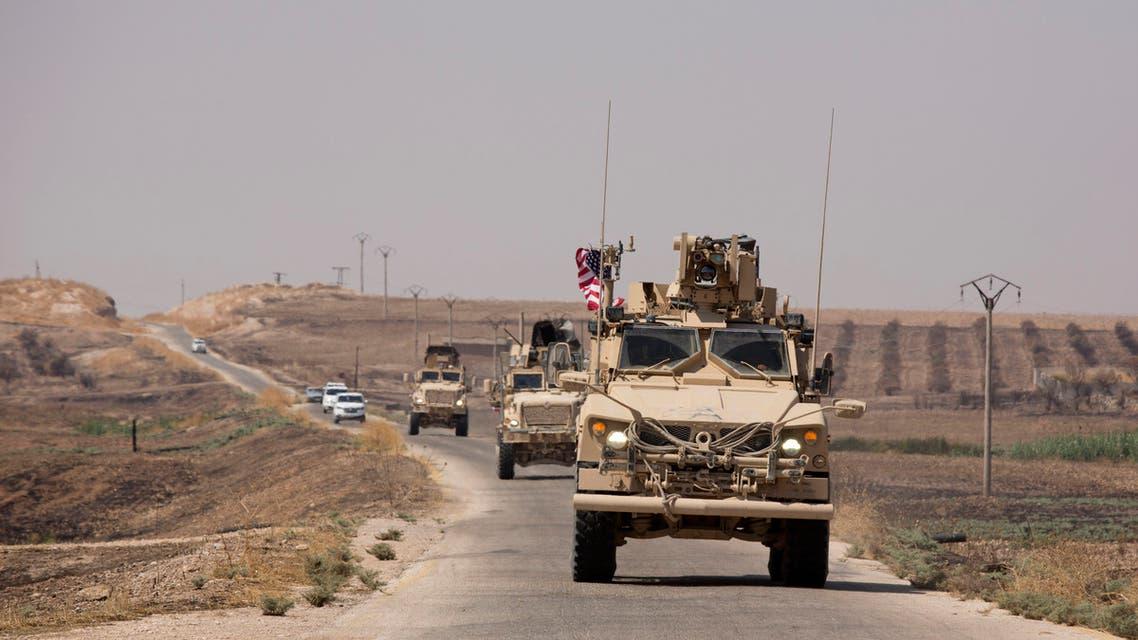 دوريات أميركية تركية بالمنطقة الآمنة