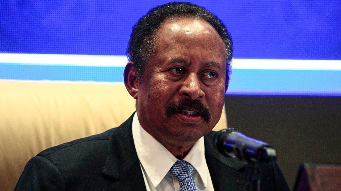 Sudan's Prime Minister Abdalla Hamdok. (AFP)