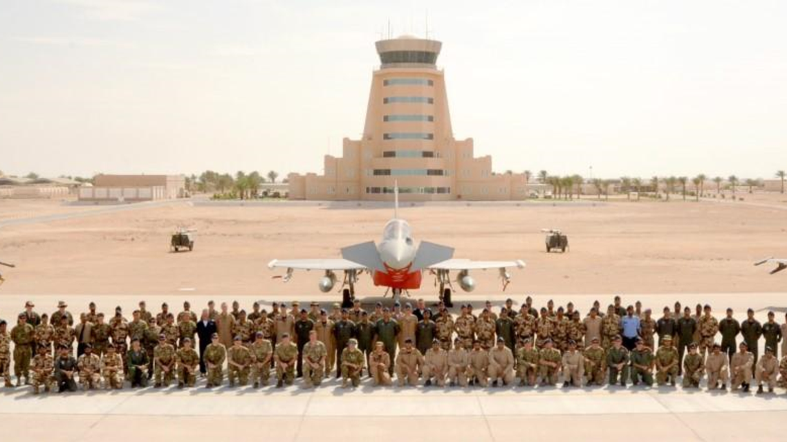 Omani air force (Oman News Agency)