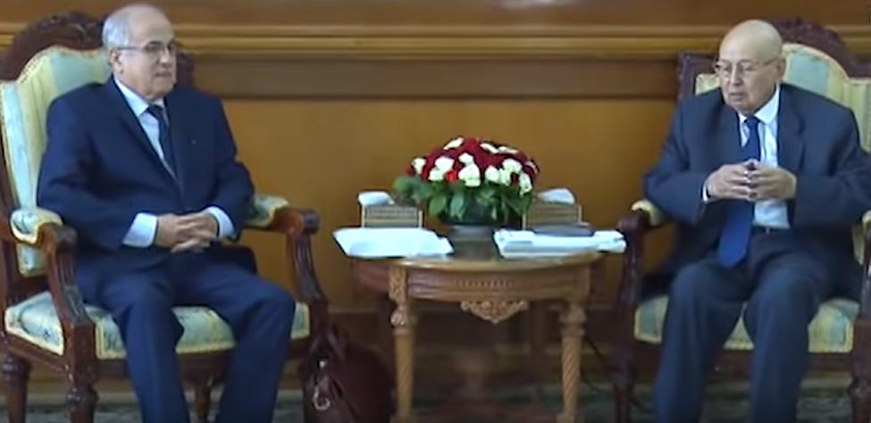 كريم يونس وعبد القادر بن صالح