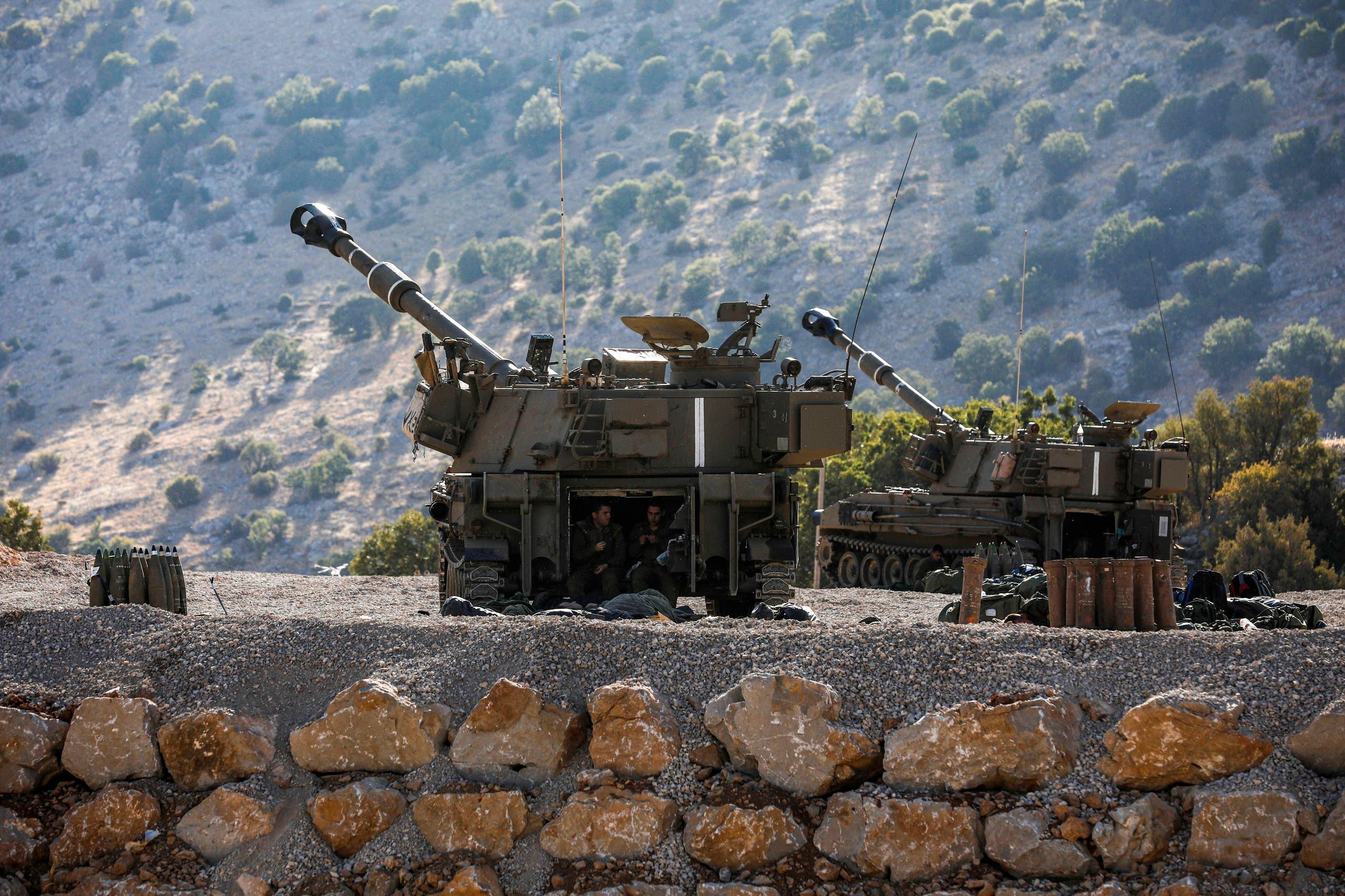 قوات إسرائيلية في الجولان المحتل (أرشيفية)