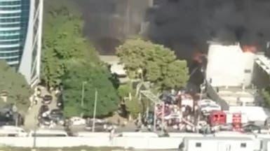 مصر.. حريق بوكالة البلح التجارية ولا ضحايا