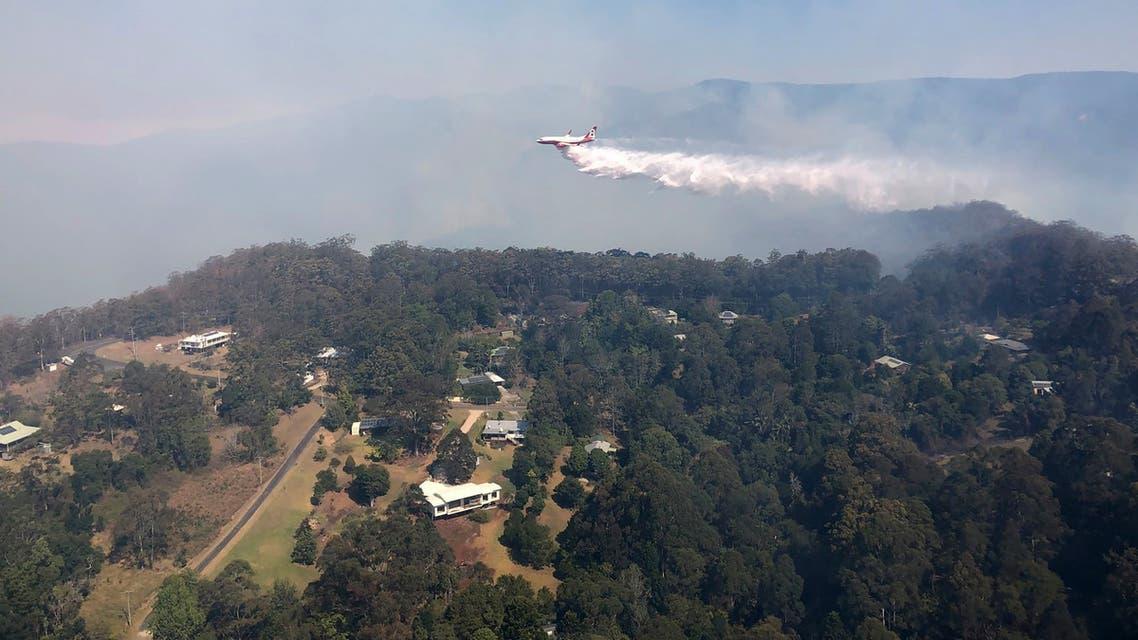 حرائق غابات أستراليا