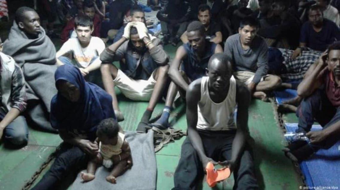 لاجئون أفارقة في ليبيا