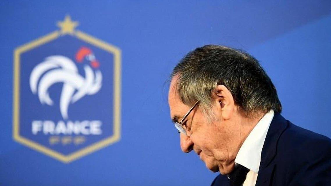 نويل لو غريت رئيس الاتحاد الفرنسي لكرة القدم