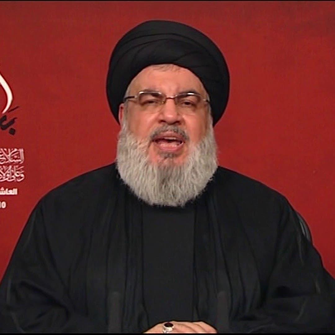 نصرالله يؤكد الولاء لخامنئي وقراراته وإيران والدفاع عنها