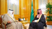 کویتی وزیرخارجہ کی سعودی ولی عہد سے ملاقات