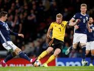 دي بروين يتألق في فوز بلجيكا العريض على اسكتلندا