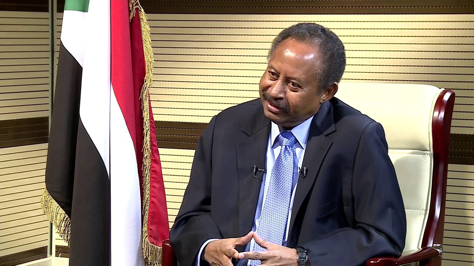 رئيس الوزراء عبدالله حمدوك