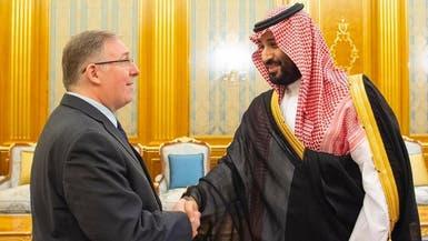 محمد بن سلمان يلتقي رئيس وفد القيادات المسيحية الإنجيلية