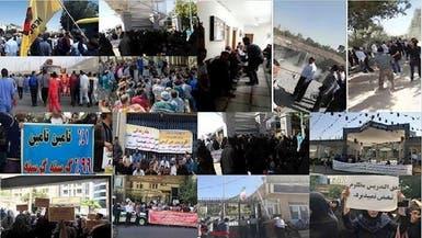مؤشر القمع الإيراني يرتفع.. 45 إعداما و177 احتجاجا بشهر