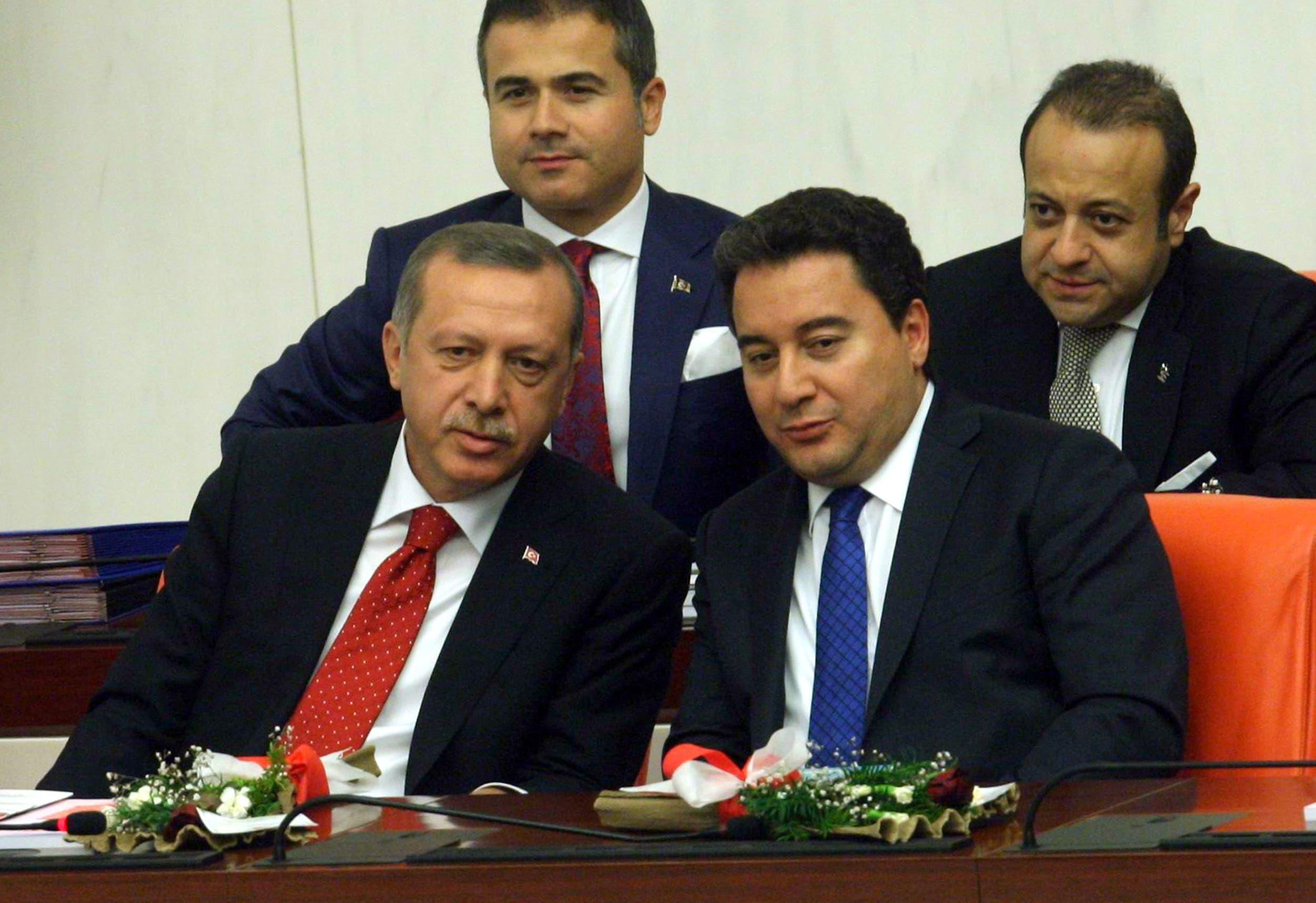 علي باباجان وأردوغان (فرانس برس)