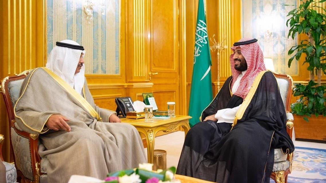 محمد بن سلمان يستقبل وزير خارجية الكويت