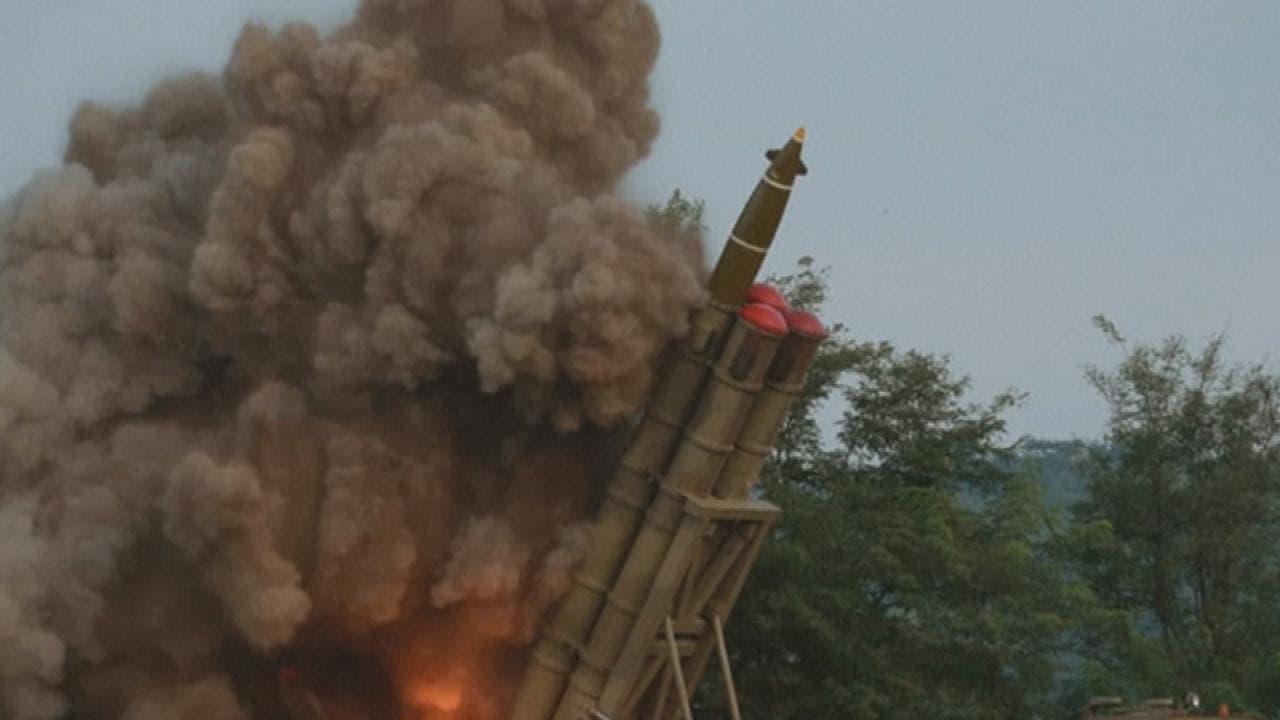 كوريا الشمالية تختبر راجمة صواريخ عملاقة متعددة الفوهات (أرشيفية)