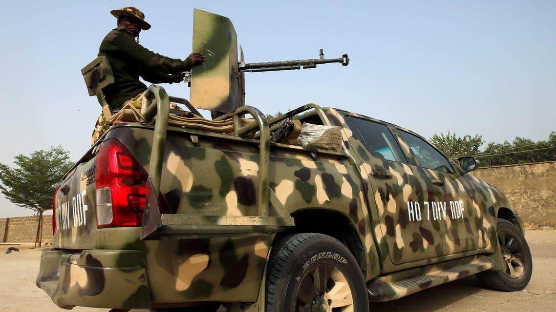 Nigeria military vehicle 2019 - ISIS Boko Haram ISWAP - Reuters
