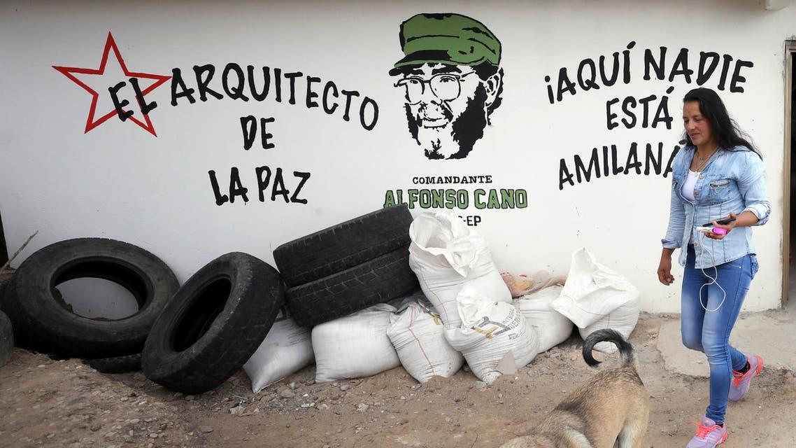 FARC grafitti in Colombia amid Cuba ties - AP