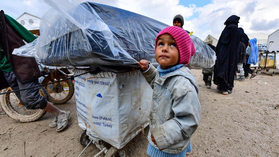 AL-HAWL CAMP SYRIA - AFP