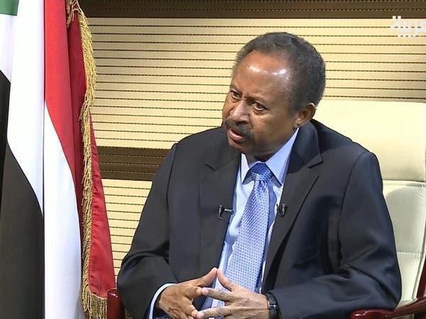 رئيس وزراء السودان يسعى لدعم أوروبي في بروكسل
