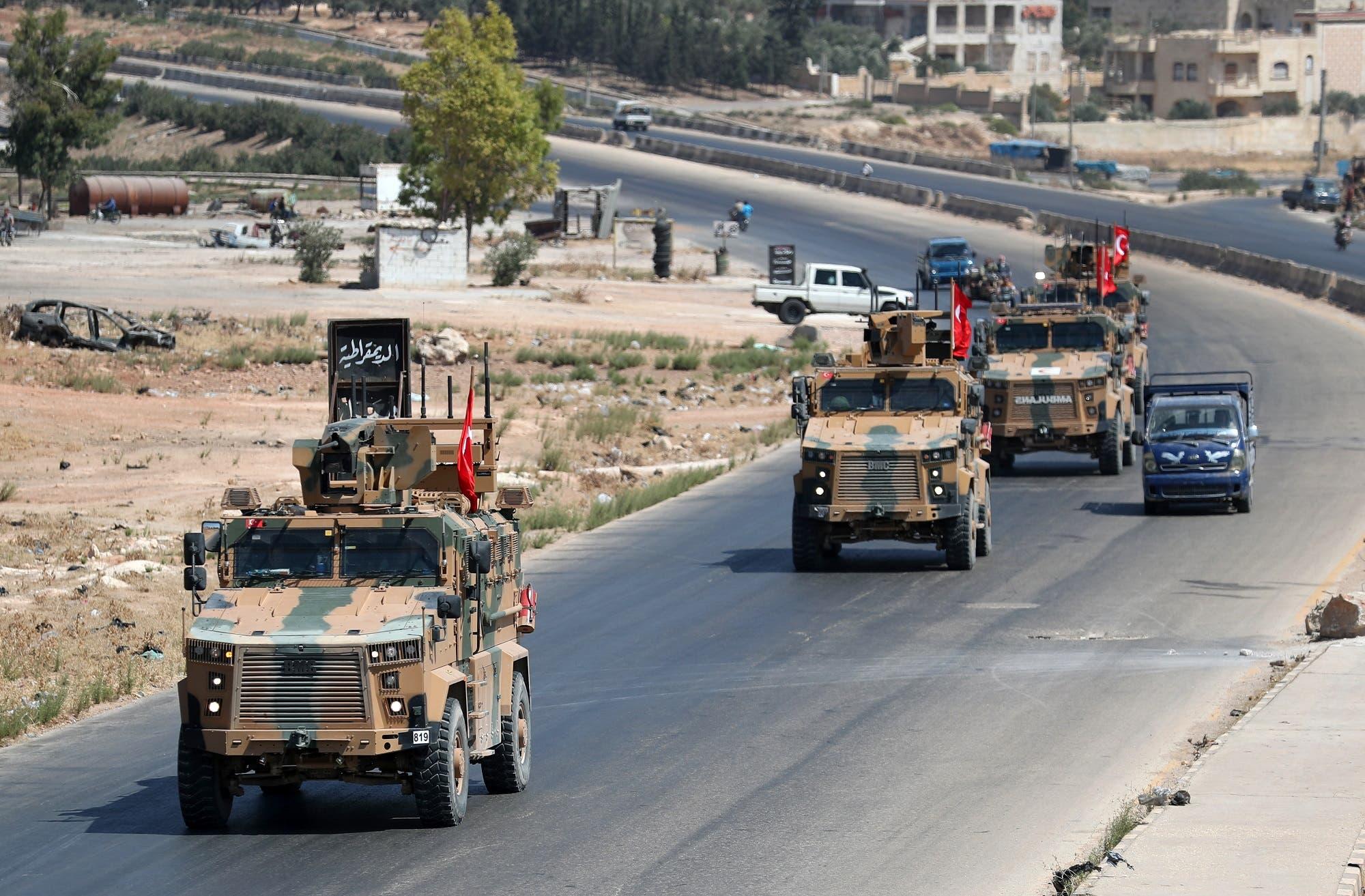 تعزيزات تركية إلى إدلب (أرشيفية)
