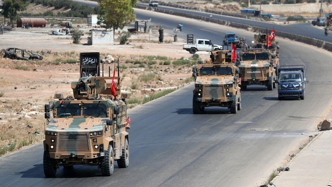 تعزيزات تركية إلى إدلب