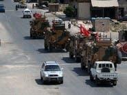 30 آلية عسكرية تركية دخلت معبر كفرلوسين إلى إدلب