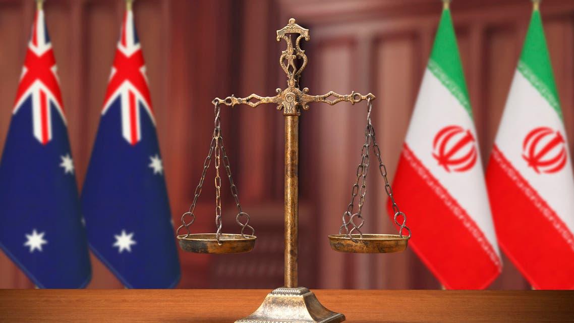 استراليا إيران