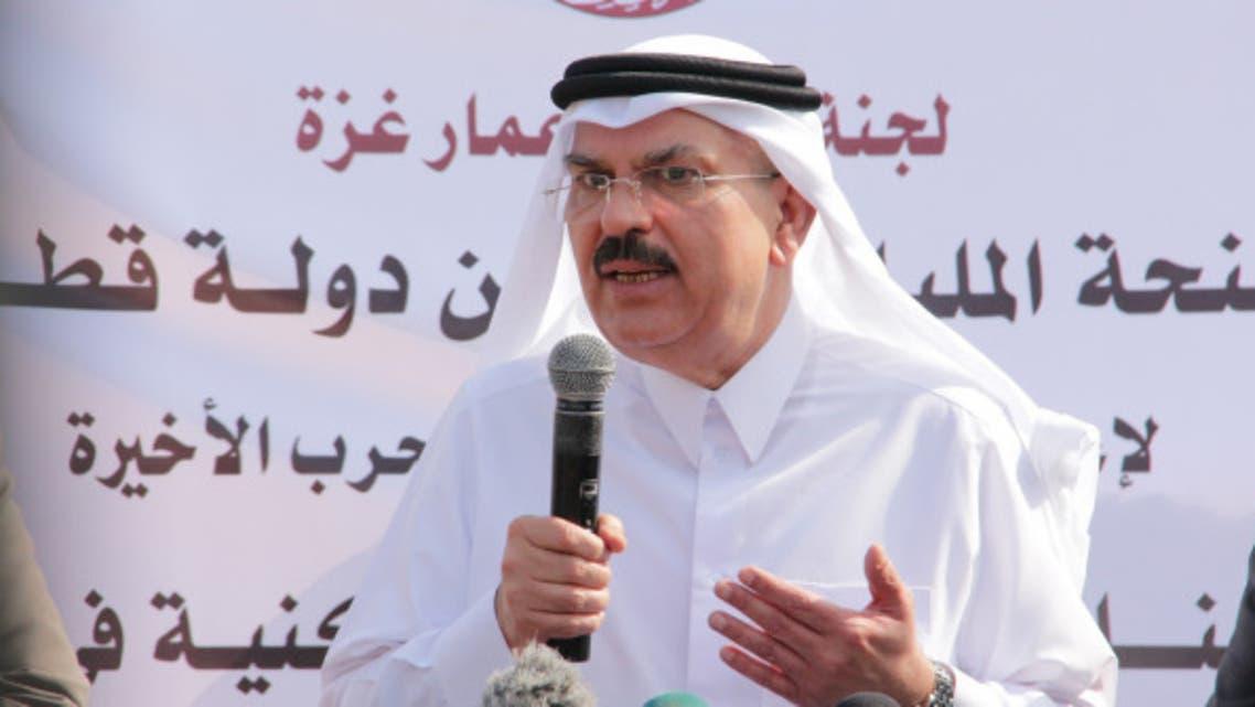 رئيس اللجنة القطرية لإعادة إعمار القطاع السفير محمد العمادي