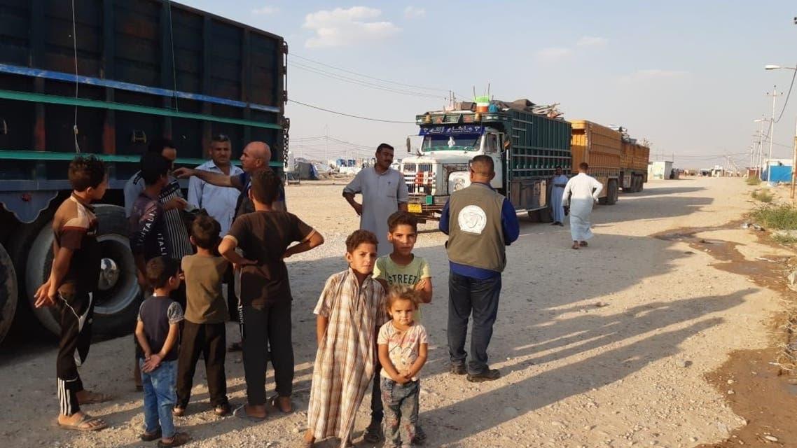 Re: عائلات عالقة جنوب الموصل دون مأوى