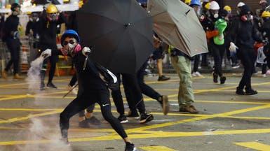 بعد اشتباكات عنيفة.. شرطة هونغ كونغ تمنع احتجاجات بالمطار