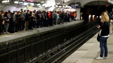 Paris commuters hit by transport strike over pension overhaul