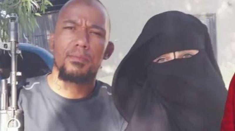 أميمة وزوجها مغني الراب