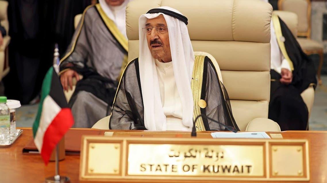 Kuwaiti Emir Sheikh Sabah al-Ahmad al-Jaber al-Sabah is seen during the Arab summit in Mecca. (File photo: Reuters)
