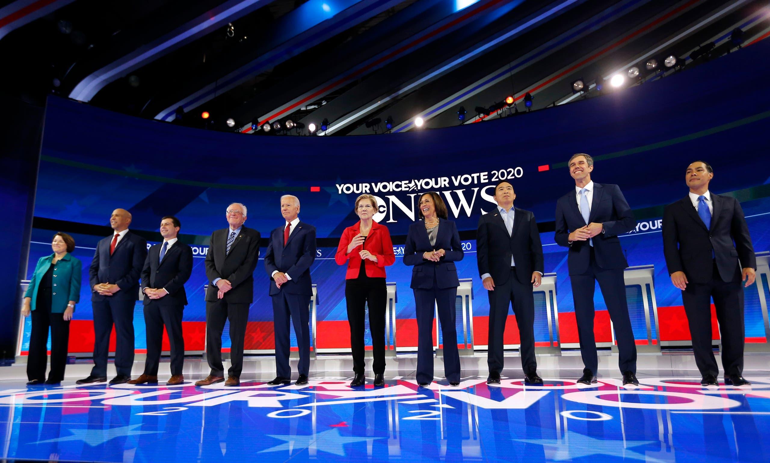 أول مناظرة ديمقراطية