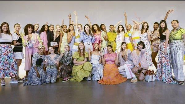 في عروض نيويورك الموضة لمختلف المقاسات والأعمار