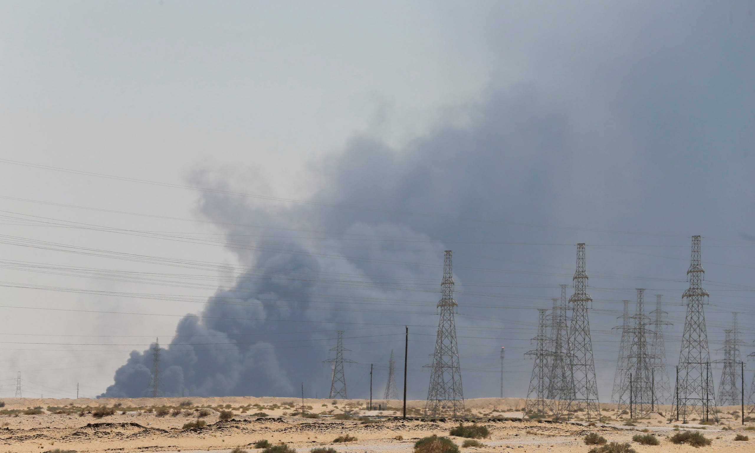 حريق بقيق أرامكو ارامكو (أرشيفية)