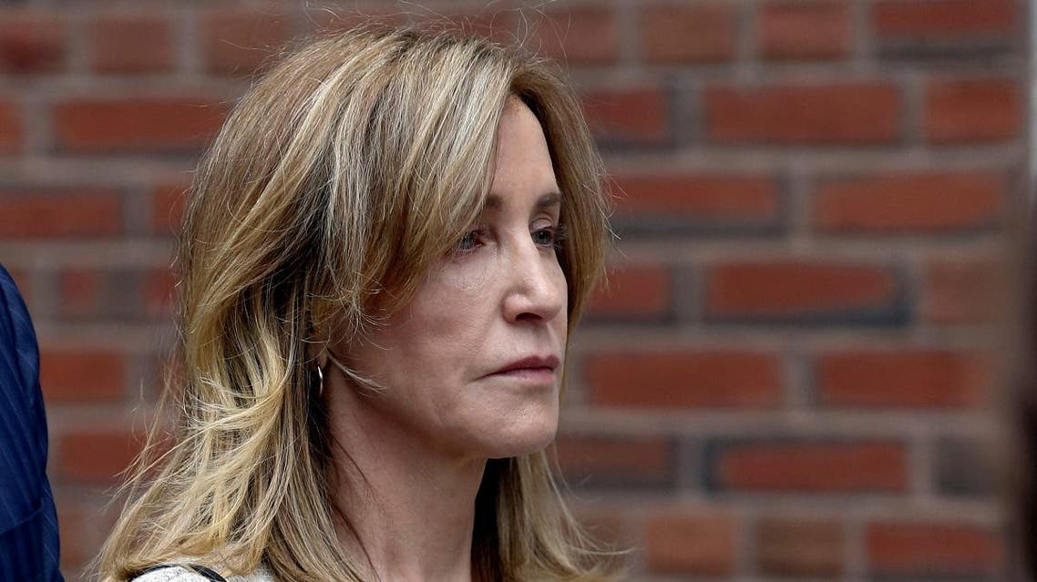 Felicity Huffman leaves the federal courthouse after facing charges in a nationwide college admissions cheating scheme in Boston. (File photo: Reuters)