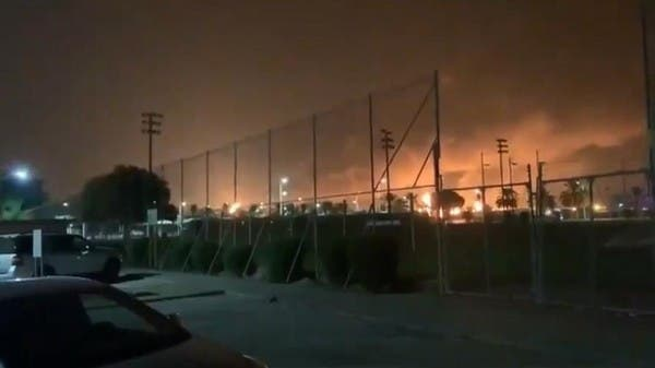 """السعودية.. السيطرة على حريقين بمعملين لـ""""أرامكو"""" استهدفا بطائرات درون"""