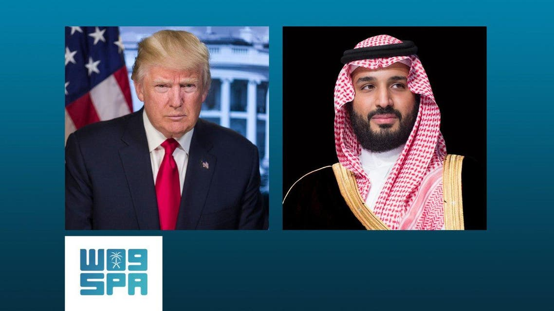 trump saudi crown prince SPA