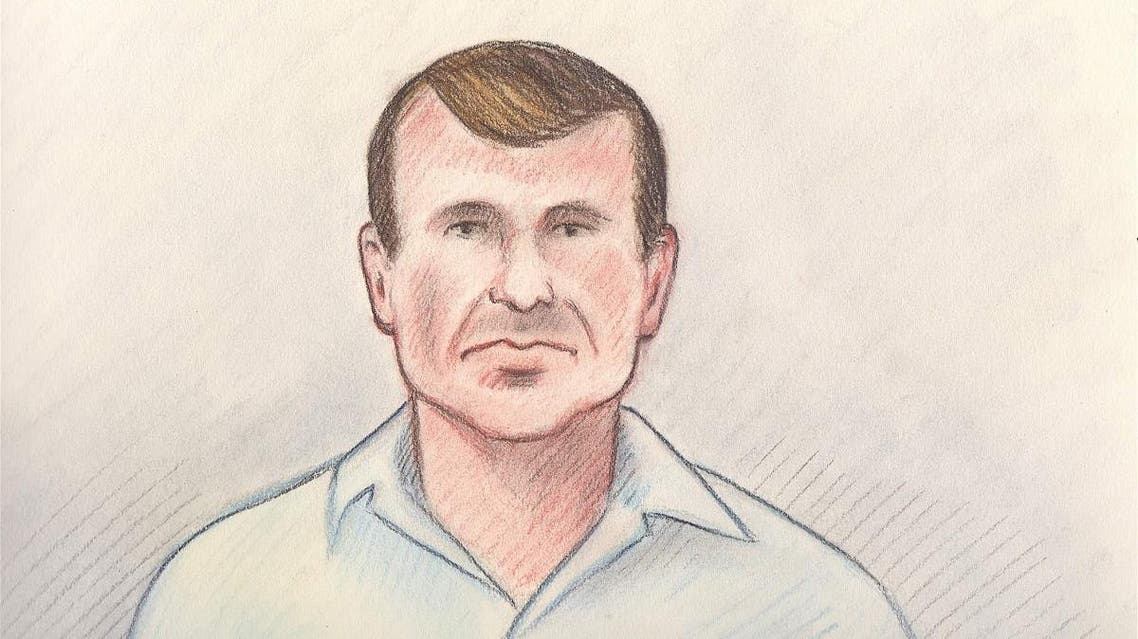 Cameron Ortis is shown in a court sketch from his court hearing in Ottawa. (Lauren Foster-MacLeod/Handout via Reuters)
